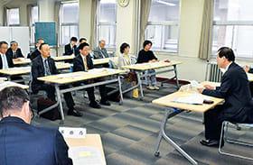 2019年度の事業計画を決めた国際交流推進協議会の総会