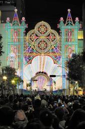 昨年の神戸ルミナリエ=神戸市中央区