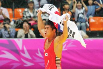 世界選手権の第1シードを目指す金炫雨(韓国)
