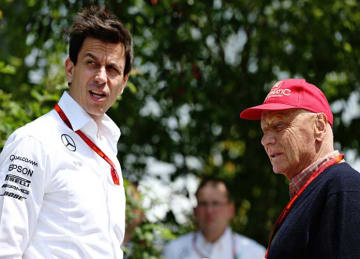 Niki Lauda and Toto Wolff Sign New Mercedes F1 Contracts Through 2020