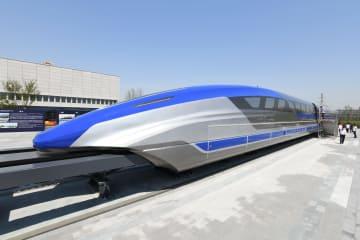 時速600キロのリニア試作車がラインオフ 山東省青島市