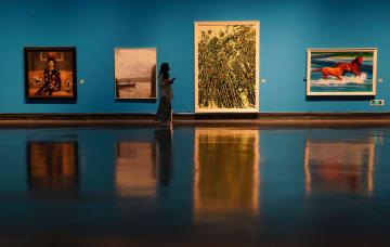蘇州美術館で中国油絵作品展開幕