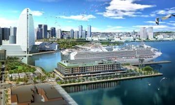 横浜・みなとみらいに「インターコンチネンタル横浜Pier 8」が11月開業 埠頭ターミナル内に 画像