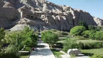 世界遺産の文化財保護 新疆·キジル石窟