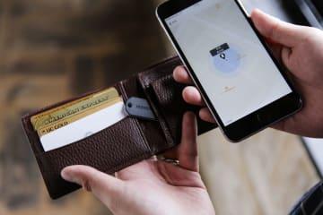 財布やキーケースなどに専用タグを取り付ける