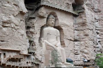 世界文化遺産「炳霊寺石窟」を訪ねて 甘粛省