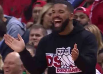 Drake trolls Bucks players in Game 4 loss to Raptors