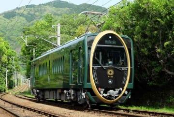 2019年のローレル賞に選ばれた叡山電鉄の観光列車「ひえい」
