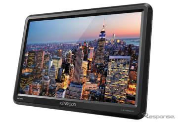 ケンウッド、10.1V型HD液晶リアモニター発売へ HDMI入力端子2系統装備 画像