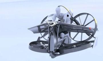 空飛ぶ車「teTra」が資金調達。1/1サイズの試作機を製作 画像