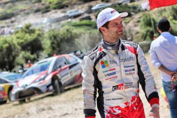 WRC:ユホ・ハンニネン、1戦限りの復帰決定。トヨタ・ヤリスWRCで第8戦イタリア参戦へ 画像