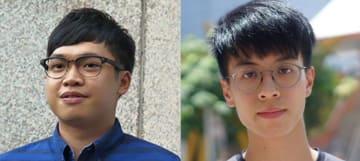 Alan Li Tung-sing (left) and Ray Wong. File Photo: Stand News/Cloud.