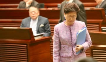 Carrie Lam. Photo: inmediahk.net.