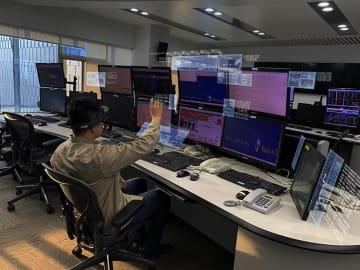 複合現実(MR)技術で電力設備パトロール 天津市