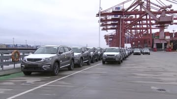 寧波舟山港の1~4月の陸海複合輸送のコンテナ取扱量が5割近く増加