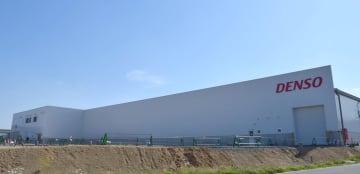 第1期目の拡張整備を終え、本格稼働した新工場