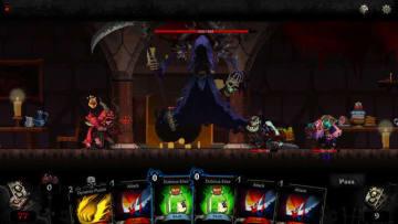 ローグライクカードゲーム『Blood Card』正式リリース!迫る死神…逃げるも倒すもプレイヤー次第