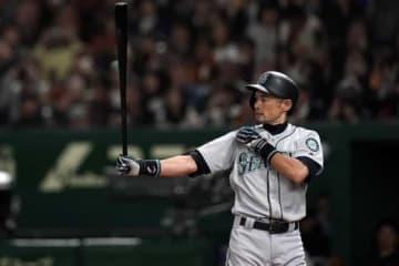 3月に行われた日本開幕シリーズを最後に現役を引退したイチロー氏【写真:Getty Images】