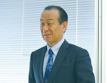 6月に社長に就任する廣川裕司氏