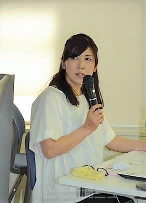 訪問介護について説明する鈴木代表