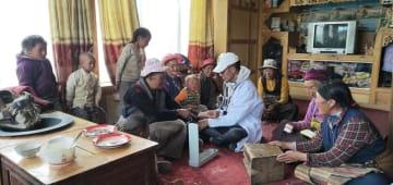 農牧民のホームドクター 四川省理塘県