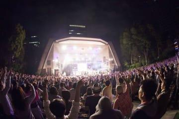 日比谷公園大音楽堂の野外コンサート