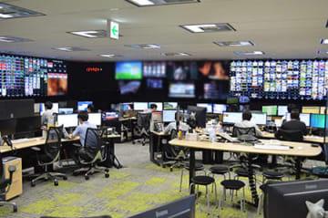NTTぷららが稼働した国内最大規模の映像監視センター「NTTぷらら メディアオペレーションセンター」