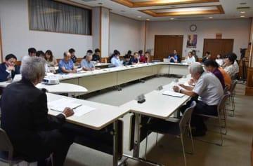 飫肥のまちづくりについて情報交換を行った飫肥のまち再興連携会議の第1回会議