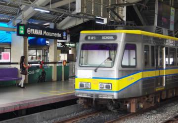 フィリピン・マニラ市内にある「ヤマハモニュメント駅」