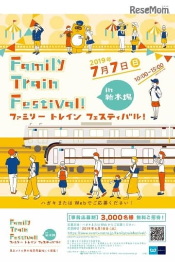 Family Train Festival!in 新木場