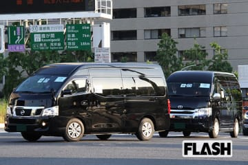 (27~28)日本・外務省の接伴要員車