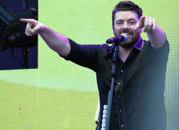 STATE COLLEGE, PA - JULY 08: Singer/Songwriter Chris Young performs during Happy Valley Jam 2017 in Beaver Stadium on the campus of Penn State University. July 8, 2017 in State College, Pennsylvania. (Photo by Rick Diamond/Getty Images for...