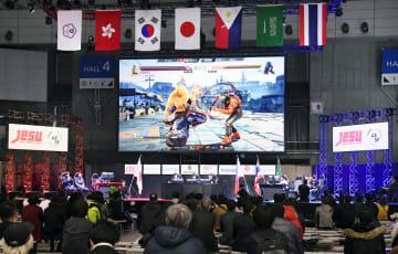 1月、千葉市で行われたeスポーツの国際試合