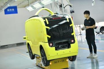 レベル4自動運転車生産拠点が稼働開始、世界初 江蘇省常州市
