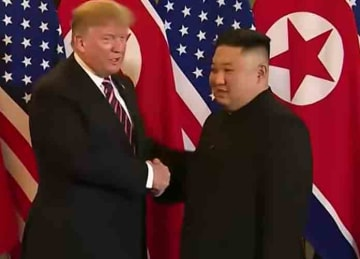 Trump and Kim Jong Un meet in Hanoi, Vietnam for second summit