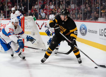 Brad Marchand Scores Empty Net Goal in 4-1 Bruins Win Over Canadiens