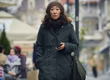 Sandra Oh in 'Killing Eve'