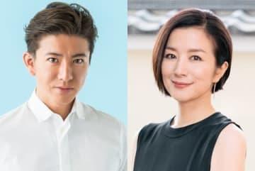 10月からTBS「日曜劇場」枠で放送されるドラマに出演する木村拓哉さん(左)と鈴木京香さん(C)TBS