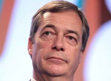 The Brexit Party's Nigel Farage