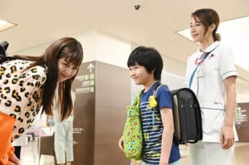 連続ドラマ「白衣の戦士!」の第7話の一場面=日本テレビ提供