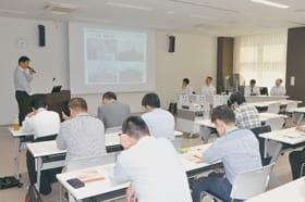 PCB廃棄物処理事業の進ちょく状況などを明らかにした報告会