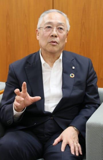[たぐち・さちお]東北大卒。1977年入行。2003年個人営業部長、09年取締役東京営業部長、10年常務を経て14年6月から現職。65歳。二戸市出身。