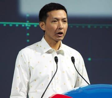 「中国語版ポケモンクエスト」の中国配信に向けて「開発を進めている」と話す中国・ネットイーズのワン・イー副総裁