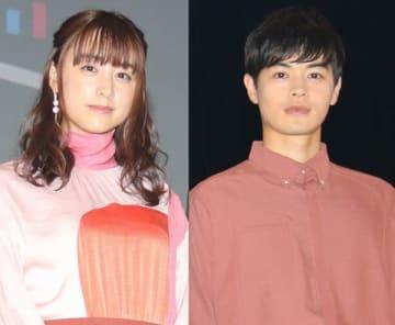連続ドラマ「パーフェクトワールド」に出演している山本美月さん(左)と瀬戸康史さん