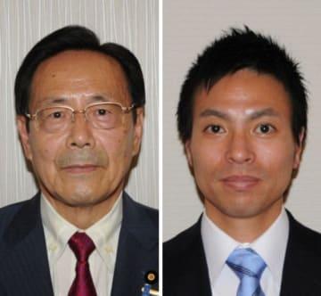 石井正弘氏(左)と原田謙介氏
