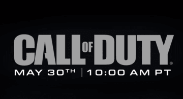 『Call of Duty』シリーズ最新情報が日本時間5月31日午前2時に発表