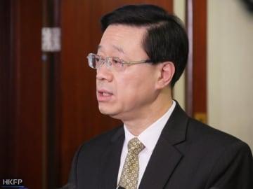 Secretary for Security John Lee. Photo: Holmes Chan/HKFP.