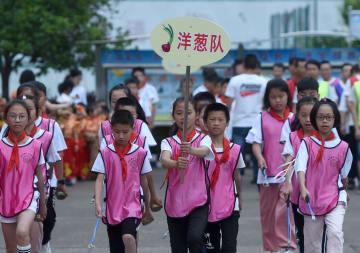 「農村の風情豊かな」運動会で「国際児童デー」を迎えよう 浙江省