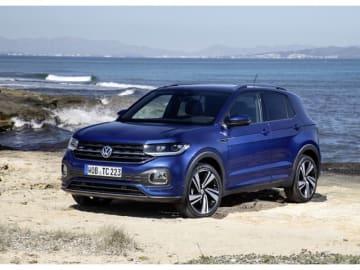 VW T-Crossは昨年12月に欧州市場で受注を開始した同ブランドで最も小さなSUV。本国ドイツでの新車価格は、1万7975ユーロ(約230万円)