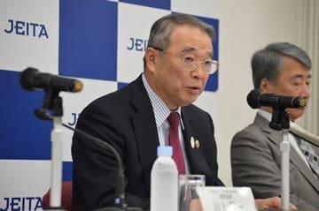 JEITAの新会長に就任した遠藤信博氏